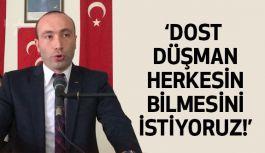 Taner Tekin: Türk Milliyetçileri Bu Milletin Temel Taşıdır