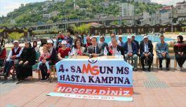 Türkiye'nin ilk ve tek 'MS hasta kampı' Samsun'da