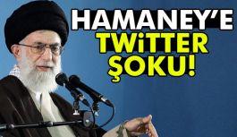 Twitter'dan  Hamaney'e Şok!
