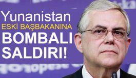Yunanistan eski Başbakanına Bombalı Saldırı!