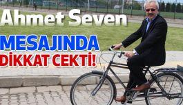 "Ahmet Seven ""Çarşamba'da bisiklete binmeli"" dedi ve Bisikletle Stres Attı"