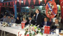 Bafra MHP, Ülkü Ocakları, Türkav İftar yemeği...