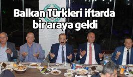Balkan Türkleri İftarda bir araya geldi