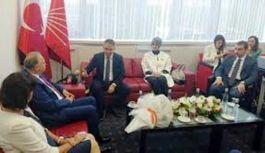 CHP heyeti, MHP'ye bayram ziyaretinde bulundu