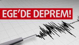 Ege'de deprem...