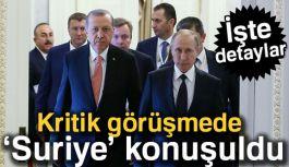 Erdoğan, Putin İle Telefonda Ne Görüştü?