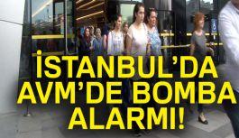 İstanbul'da AVM'de bomba Alarmı