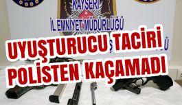 Kayseri'de Uyuşturucu Taciri Polisten...