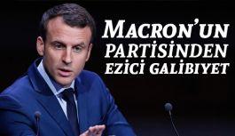 Macron'un partisi, oyların yüzde 30'unu aldı