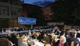 MHP Alaçam'da iftar yemeği düzenledi