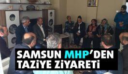 MHP'den Şehit ailesine taziye