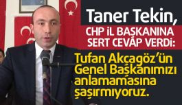 MHP İl Başkanı Tekin'den CHP'li Başkan Akcagöz'e Sert Cevap