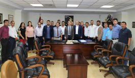 MHP İlçe Teşkilatı'ndan Başkan Şirin'e Ziyaret