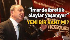 MHP'li Çetinkaya; İmarda ibretlik olaylar yaşanıyor