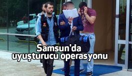 Samsun'da uyuşturucu operasyonu: 9 Tutuklama