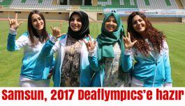"""Samsun Deaflympıcs 2017'nin resmi sloganı: """"Sesimiz spor"""""""