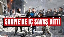 """""""Suriye'de iç savaş bitmiştir"""""""
