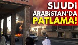 Suudi Arabistan'da büyük patlama