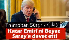Trump'tan Sürpriz  Çıkış: Katar Emiri'ni Beyaz Saray'a davet etti