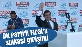 AK Parti'li Eski Vekil Mehmet Fırat'a suikast...