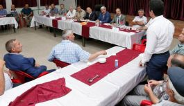 Amasya'da Muhtarlar Toplantısı