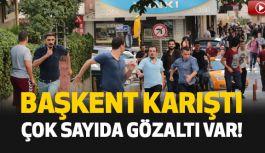 Başkent'te Gülmen ve Özakça Eylemine Gözaltı