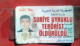 Diyarbakır'da PKK'lı Suriyeli 1 terörist öldürüldü