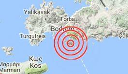 Ege Denizi'de deprem