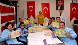 Engellilerin Ebru Sanatı Büyük İlgi Gördü