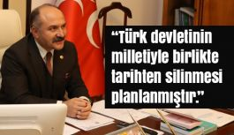 Erhan Usta: FETÖ/PDYile sonuna kadar mücadele edilmelidir