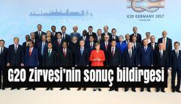 G20 Zirvesi'nin sonuç bildirgesi