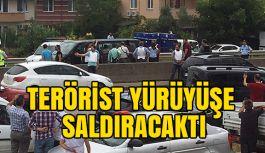 IŞİT'li Terörist CHP'nin Yürüyüşüne Saldırıacaktı