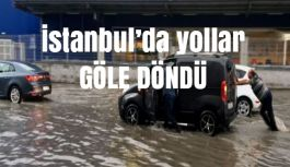 İstanbul'da yağmur Hayatı Durdurdu