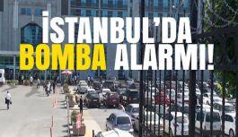 İstanbul'da Adalet Sarayı'nda Bomba Alarmı!