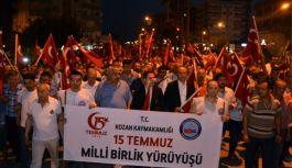 Kozan'da 15 Temmuz Demokrasi ve Milli Birlik Günü Etkinlikleri