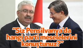 MHP'den Eski Başbakan Davutoğlu'na Cevap!