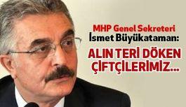 MHP'li Büyükataman; Hükümet Acilen Çiftçilerin Zararını Karşılamalı