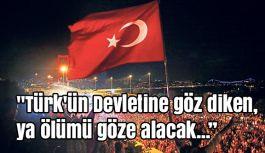Murat Emre Şahin: Türk, devleti için yaşar; devleti için şehit olur