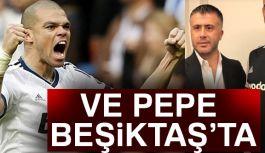 Pepe, Siyah-Beyazlı Formayı Giydi