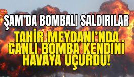 Şam'da Bombalı intihar Saldırıları Gerçekleşti...