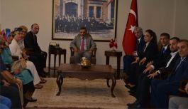 Samsun MHP'den Vali Osman Kaymak'a ziyaret