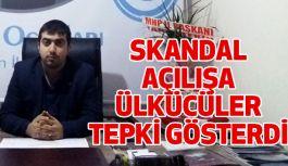 Samsunspor'a Skandal Açılışa Ülkü Ocaklarından Sert Tepki!