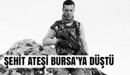 Şehit Ateşi Bursa'ya düştü.