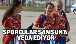 SPORCULAR SAMSUN'A VEDA EDİYOR