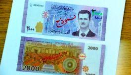 Suriye Parasına Esad'i Bastılar...