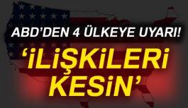 ABD'den Kritek uyarı!
