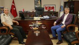 Albay Peştirnik'ten Başkan Şirin'e İade-i Ziyaret