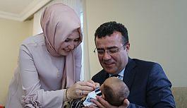 Atakum'da 'Hoşgeldin Bebek' hediyesi