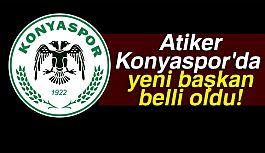Atiker Konyaspor'da Yeni Başkan Belli Oldu