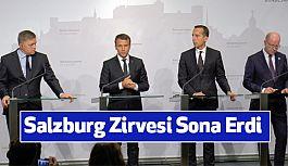 Avusturya'da yapılan Salzburg Zirvesi Sona Erdi
